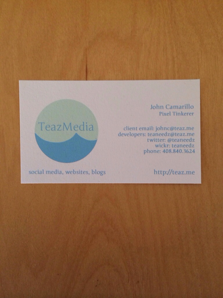 Teaneedz Updated Biz Card